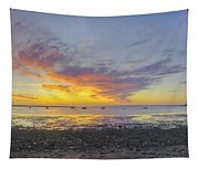 Pavilion Sunrise Tapestry