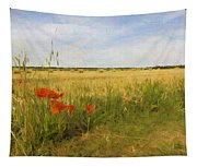 Paysage De Normandie Tapestry