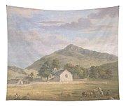 Haymaking At Dolwyddelan Tapestry