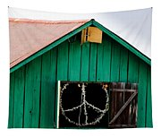 Peace Barn Tapestry