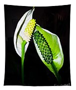 Peace Lilies Tapestry