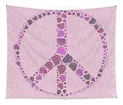 Peace Symbol Design - 42ct2b Tapestry