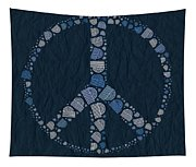 Peace Symbol Design - Bld01t01   Tapestry