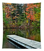 Peaceful Autumn Day Tapestry