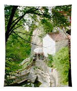 Peaceful Spot In China Tapestry