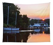 Peaceful Sunset Tapestry