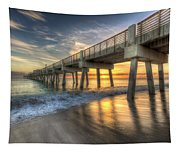 Peaceful Surf Tapestry