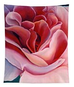 Peach Rose Tapestry