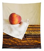 Peach Still Life Tapestry