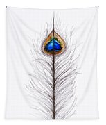Peacock Abstract Tapestry