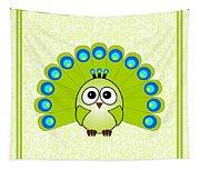 Peacock  - Birds - Art For Kids Tapestry