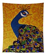Peacock Blue Tapestry