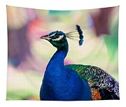Peacock I. Bird Of Paradise Tapestry