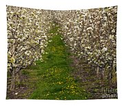 Pear Blossom Lane Tapestry
