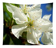 Pear Blossom Tapestry