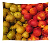 Pears And Peaches. Fresh Market Series Tapestry