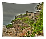 Pebble Beach 3 Tapestry
