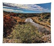 Pedernales River In Autumn Tapestry
