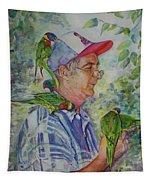 Peekaboo Tapestry