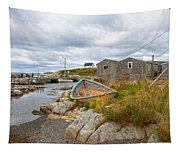 Peggy's Cove 12 Tapestry