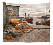 Peggy's Cove 17b Hue Tapestry