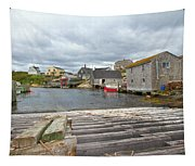 Peggy's Cove 9 Tapestry