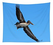 Pelican Flying High Tapestry