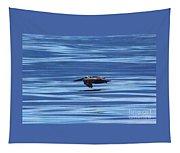 Pelican In Flight Tapestry