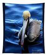 Pelican In The Bay Tapestry