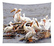 Pelican Island Tapestry