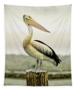 Pelican Poise Tapestry