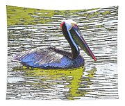 Pelican Reflections Tapestry