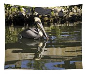Pelican Reflected Tapestry