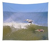 Pelicans 3868 Tapestry
