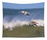 Pelicans 3870 Tapestry