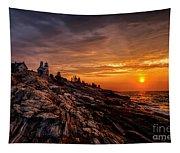 Pemaquid Sunrise  Tapestry