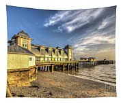 Penarth Pier Dawn 2 Tapestry