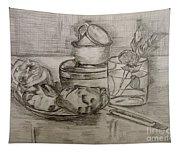 Pencil Still-life. Tapestry
