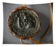 Pendent Wax Seal Of The Council Of Calahorra Tapestry