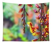Pending Flowers Tapestry