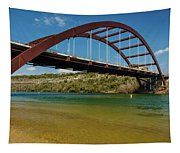 Pennybacker 360 Bridge, Austin, Texas Tapestry