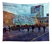 People As A Painting Tapestry
