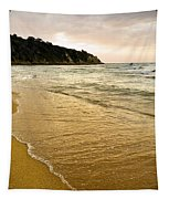 Perfect Sunset Beach Tapestry