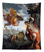 Perseus Rescuing Andromeda Tapestry