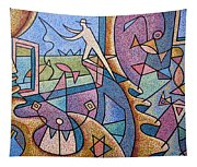 Pescador De Ilusoes  - Fisherman Of Illusions Tapestry
