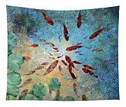 Koi Rotanti Tapestry