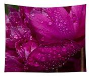 Petals And Drops I Tapestry
