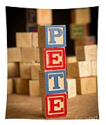 Pete - Alphabet Blocks Tapestry
