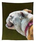 Pets - English Bulldog Profile Tapestry