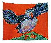 Petty Harbour Puffin Tapestry